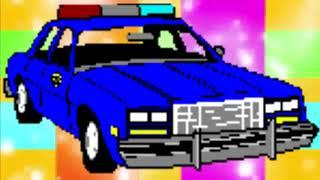 سيارة شرطة الاطفال مع اتصال وهمي #شرطة_الاطفال