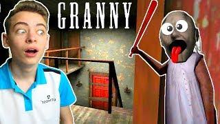 ПЯТЬ ДНЕЙ С БАБУЛЕЙ Android игра Granny Секретные комнаты в странном доме как в соседа