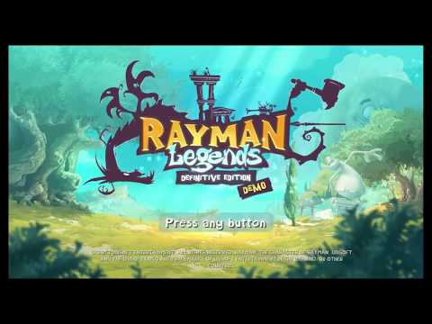 SCREEN RECORDED! rayman legends demo