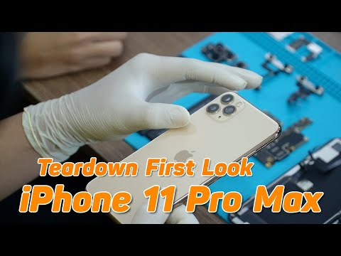 Смотреть Mổ Bụng iPhone 11 Pro Max Qúa Đỉnh Pin 4000mAh - iPhone 11 Pro Max Teardown First Look онлайн