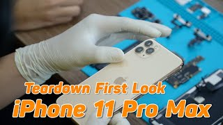 Mổ Bụng iPhone 11 Pro Max Qúa Đỉnh Pin 4000mAh - iPhone 11 Pro Max Teardown First Look