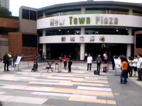 Chinese national singing