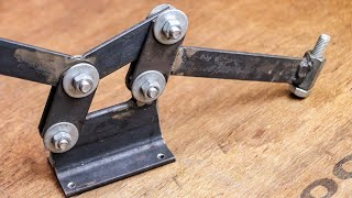 Unique invention made from fasteners | DIY metal working Tool | Be Creative