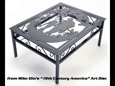 Металлическая мебель и предметы интерьера лазерной резкой