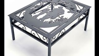 видео Металлическая мебель