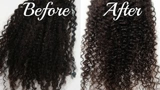 How to revive old kinky curly bundles