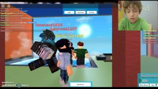 Rik plays the plaza roblox #3 FAN MAN