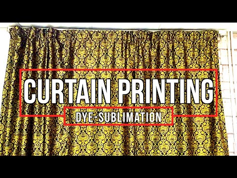 How to Print on Curtains