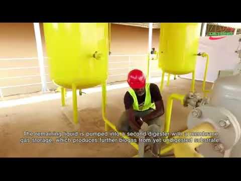 Fecal Sludge Treatment Biogas Plant in the City of Ouagadougou – Burkina Faso
