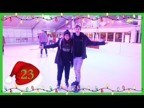 Ice Skating in Winchester (Vlogmas Day 23)