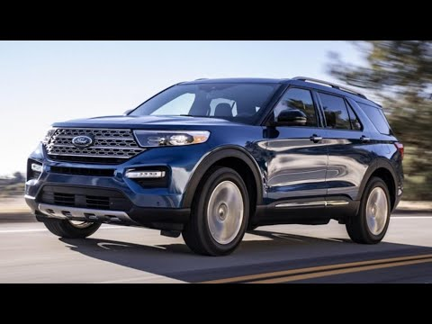 The new 2020 Ford Explorer ST Sport 4WD