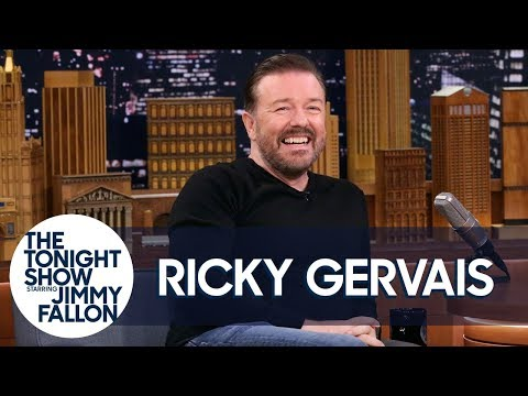 Ricky Gervais Breaks Down Why He Hates Humanity