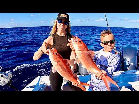 Kid Vs Adults Fishing Trip! Plus SMOKED TUNA Backbone!
