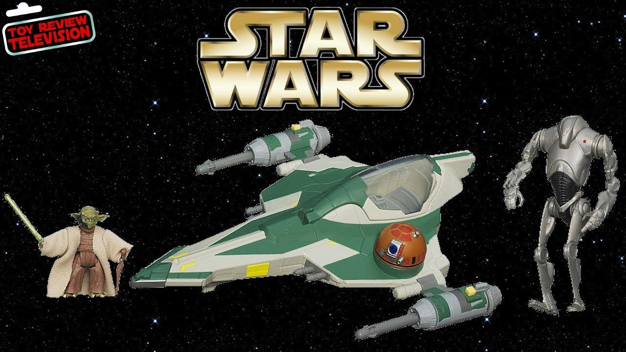Lego Star Wars Wallpaper Hd Hasbro Star Wars 2013 Yoda S Jedi Attack Fighter Set