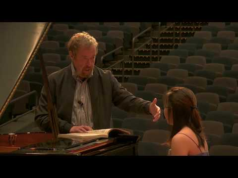 Masterclass with Alexander Braginsky, Alaska International Piano-e-Competition 2018