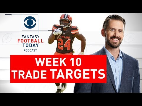 Week 10 TRADE TARGETS, Sell High, Buy Low | 2019 Fantasy Football Advice | Fantasy Football Today