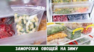 Заморозка Овощей На Зиму: Что Я Заготовила