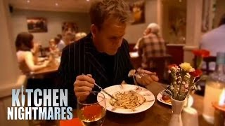 Gordon Waits 40 Minutes for Food - Kitchen Nightmares