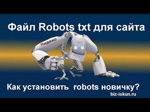Файл robots txt для сайта. Как создать правильный robots txt