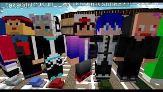 【Minecraft】イオンモールでマイクラ鬼ごっこ【ケイドロ】配布マップ