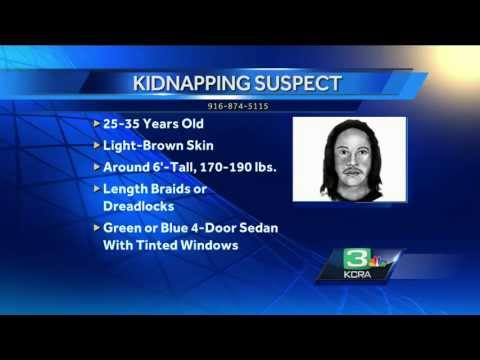 Girl, 7, Escapes Kidnapper's Trunk in Sacramento