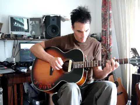 John Bohlinger Open tune acoustic guitar lesson/song