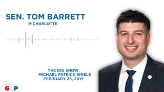 Sen. Barrett talks about corporate welfare on The Big Show