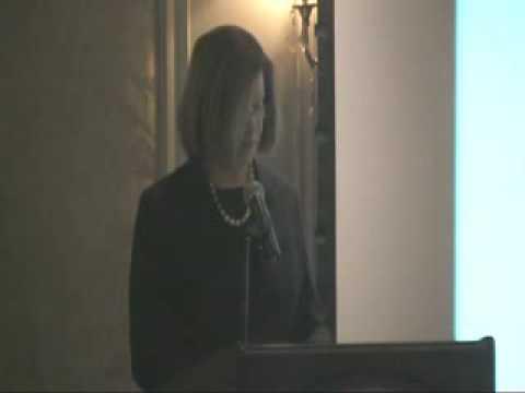 Senate President Therese Murray at 2009 Kickoff