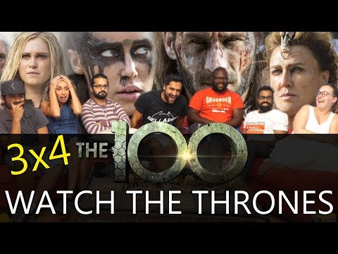 the-100---3x4-watch-the-thrones---group-reaction
