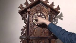 Trumpeter Cuckoo Clock by GHS For Sale (UK)