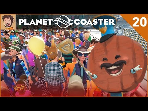 Let's Play Planet Coaster - Hard Mode - Part 20