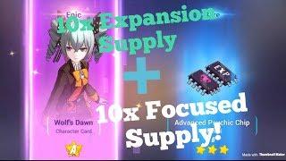 Honkai Impact 3 SEA - 10x Expansion Supply + 10x Focused Supply! Wolf's Dawn??