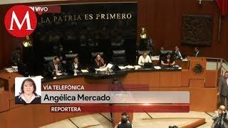 Senado debate renuncia de Eduardo Medina Mora