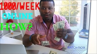 How To Easily Make $1000 A Week Online / MCA First Week Result