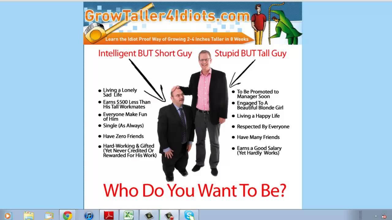 Grow Taller 4 Idiots - PDF FREE DOWNLOAD