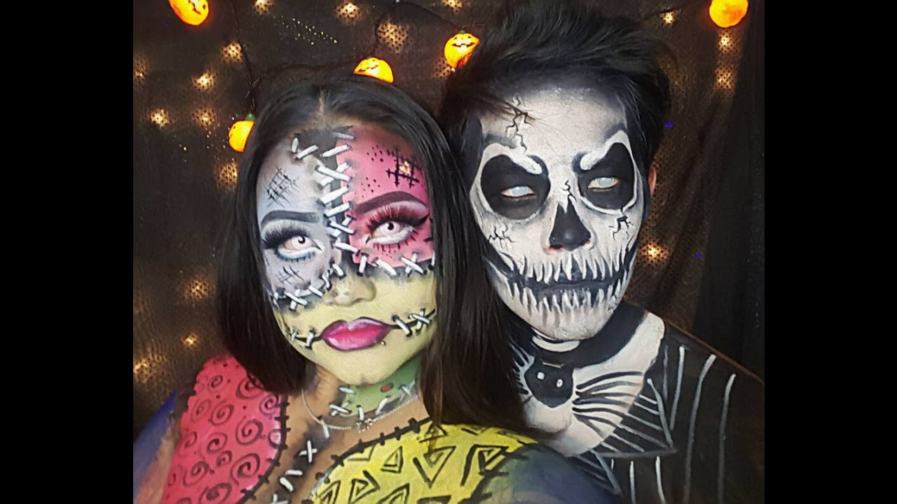 Nightmare before Christmas - Jack skeleton and Sally with a twist Ft ...