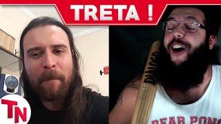 Nando Moura chama Cauê Moura de BALEIA TETUDA e Nostalgia deleta vídeo