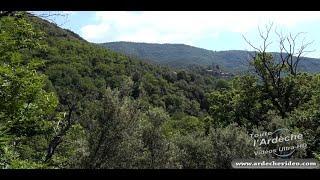 Randonnée  autour de Thines (Ardèche) (4K)