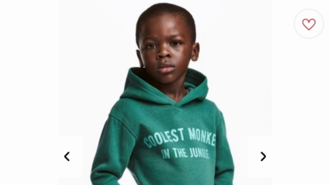 H & M Faces Backlash On Racist Ad; Black Boy Wears Hoodie That Says 'Coolest  Monkey In The Jungle'