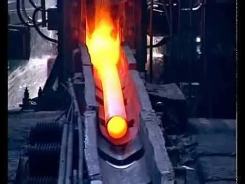 Производство стальных бесшовных труб - современное прокатное производство
