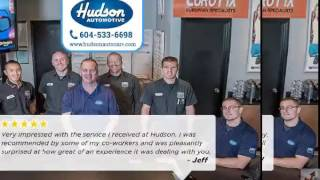 Hudson automotive service  Near Me Reviews Langley BC