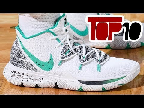 Top 10 Sneakers Kyrie Irving Has Worn On Court So Far