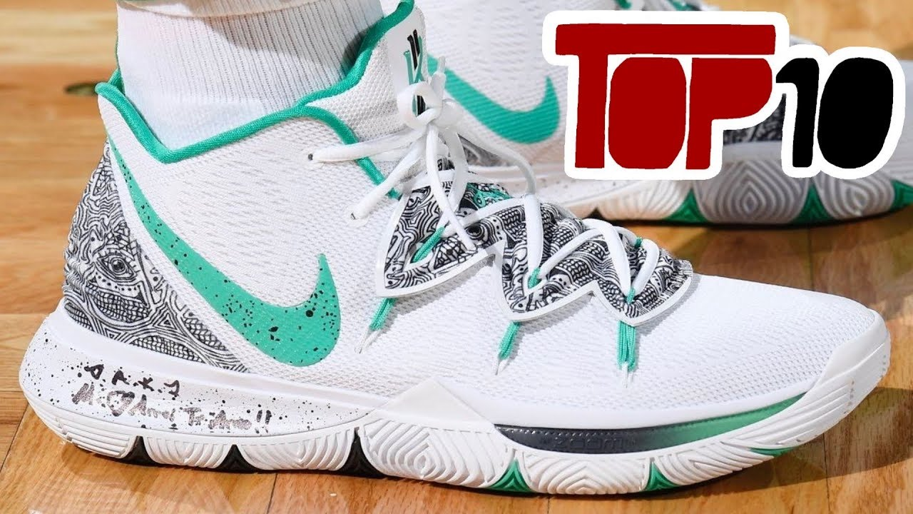 46f1cf17af36 Top 10 Sneakers Kyrie Irving Has Worn On Court So Far - YouTube