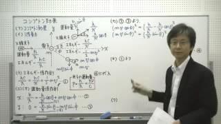 78…コンプトン効果/『秘伝の物理問題集High』