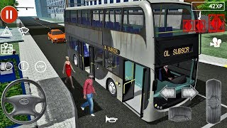 Public Transport Simulator #68 - Double Bus Games Android IOS gameplay