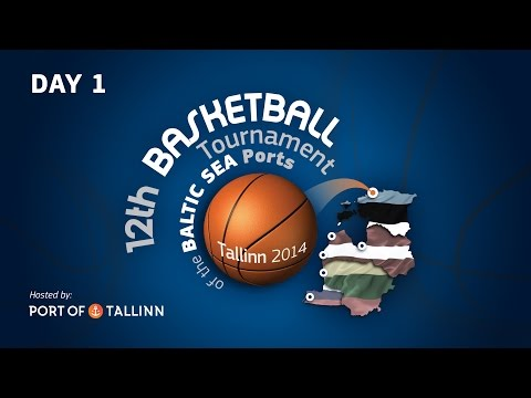 12th Basketball Tournament of the Baltic Sea Ports - Day 1