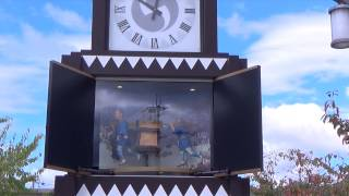兵庫県赤穂市にあるからくり時計です。赤穂浪士のことが5分ですぐ分か...