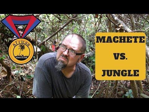 BATTLE ROYALE! - Machete vs. Jungle (Village Vlog)