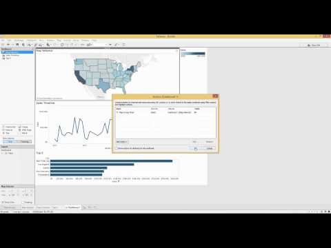 Advanced Action Filters in Tableau