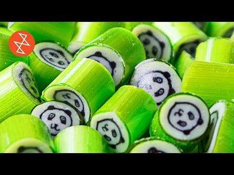 How To Make Handmade Candy With Panda Design  Où Se